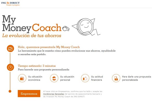 ¿Es My Money Coach ING Direct el asesor digital que estabas esperando?