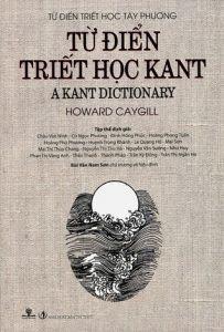 Từ Điển Triết Học Kant - Howard Caygill