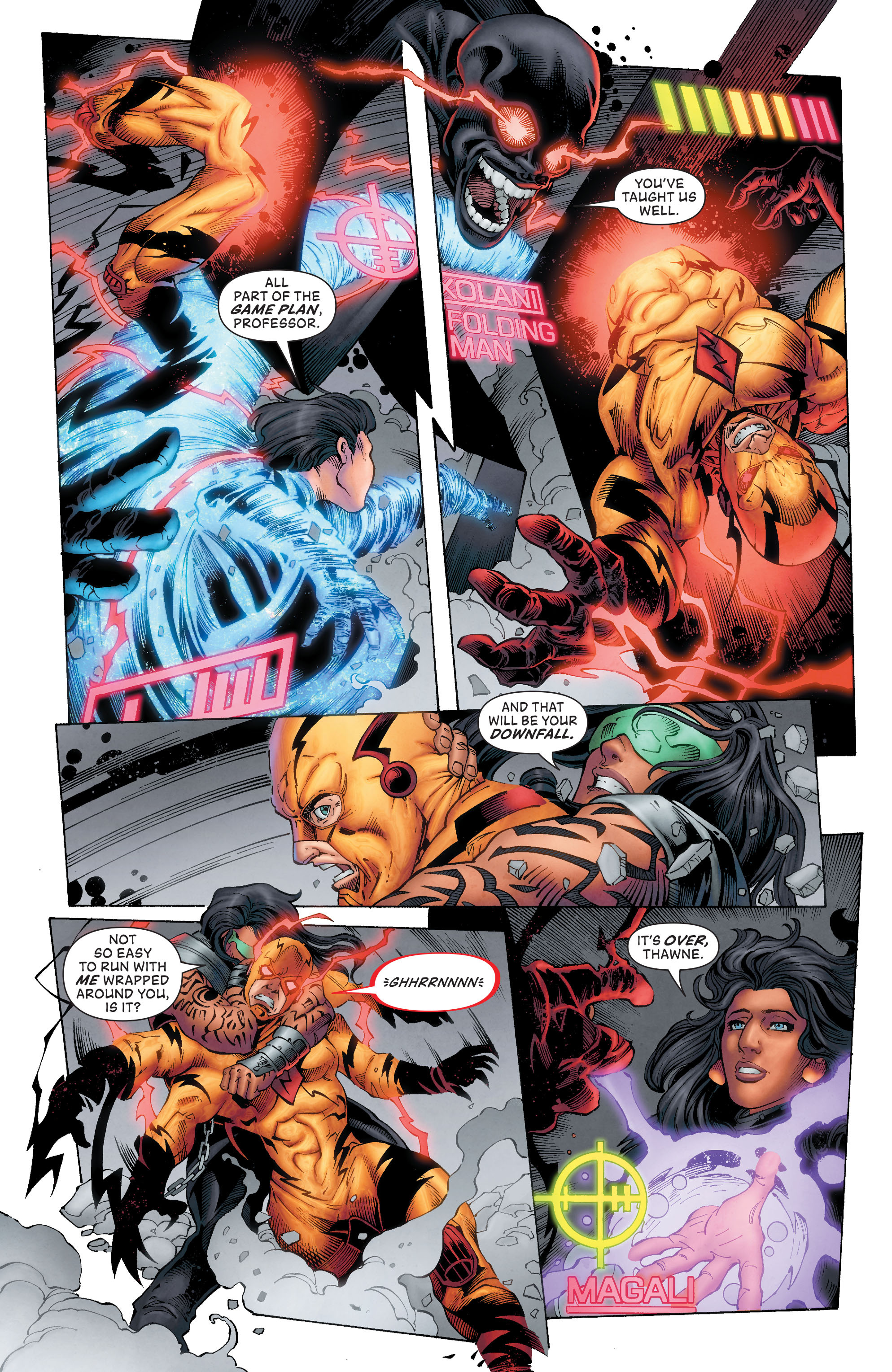 Read online The Flash (2011) comic -  Issue # Annual 4 - 28