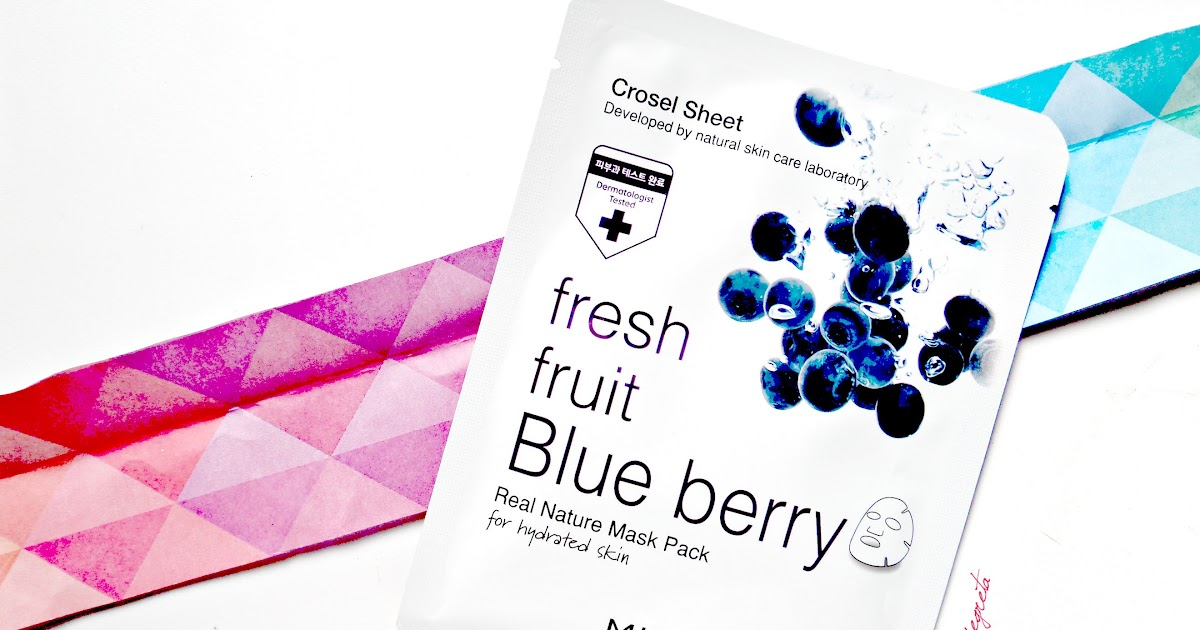 [angolo toelette] ... di k-beauty, Skin18 & la Mirum Fresh fruit Blue Berry Mask { review }