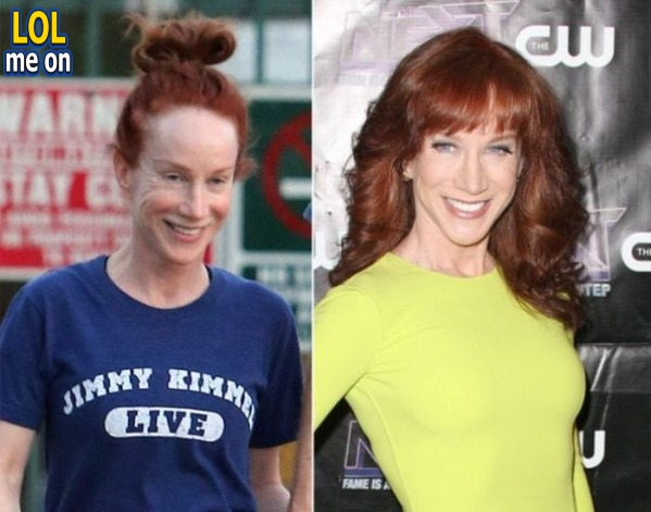 "funny celebrities picture Kathy Griffin's from ""LOL me on"""