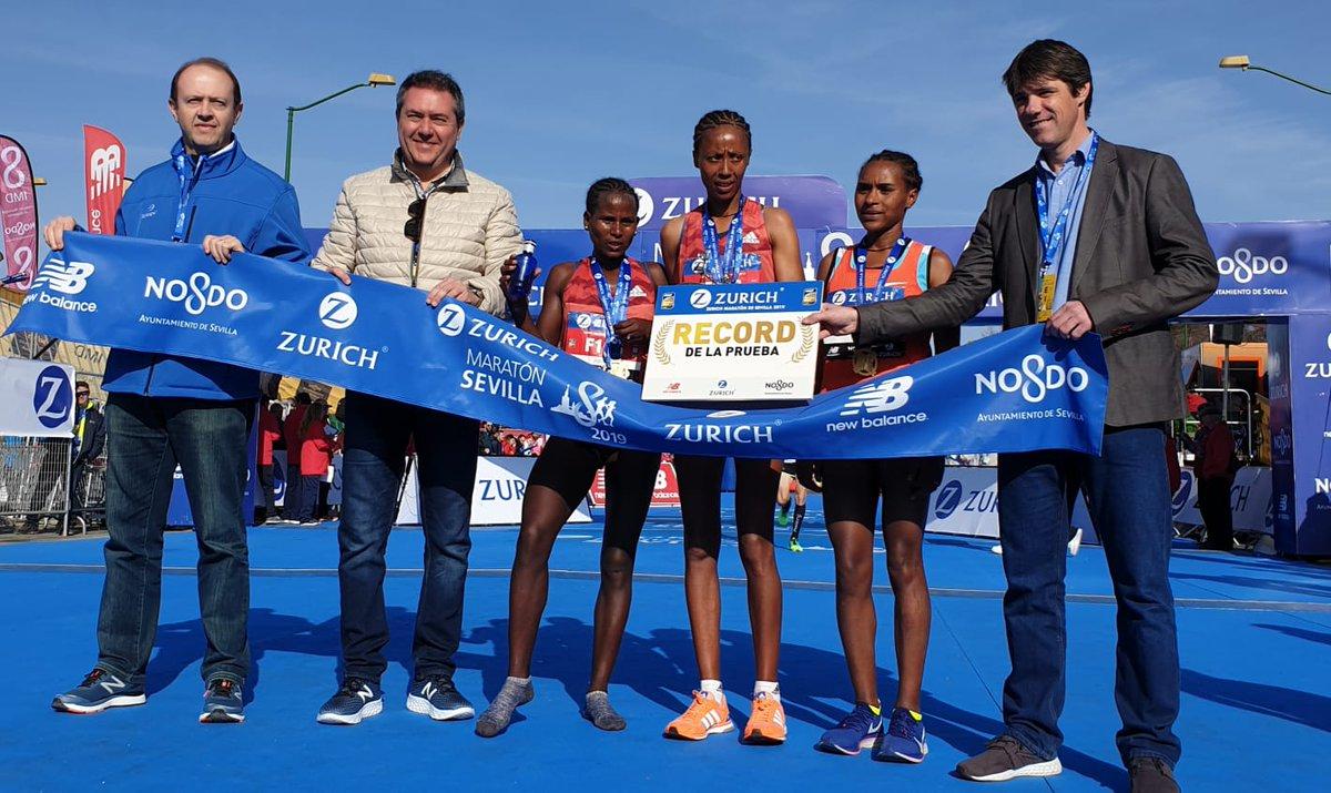 Maratón Sevilla 2019 Clasificaciones