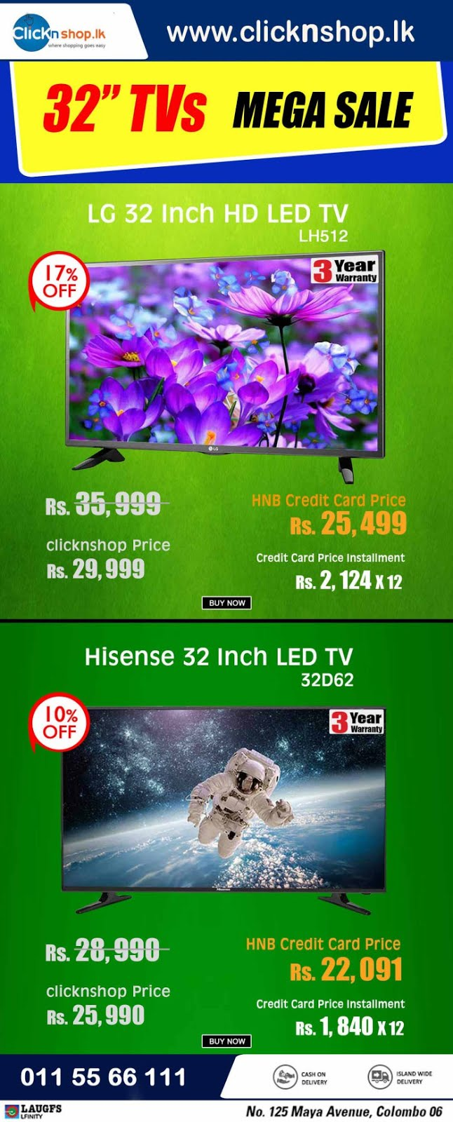 https://www.clicknshop.lk/home-appliances/televisions.html