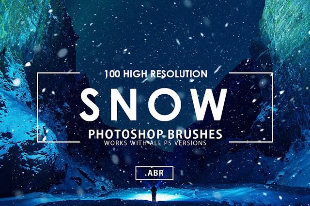 100 Photoshop Brush untuk Natal