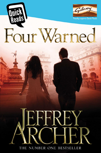 Portada de Four Warned, de Jeffrey Archer