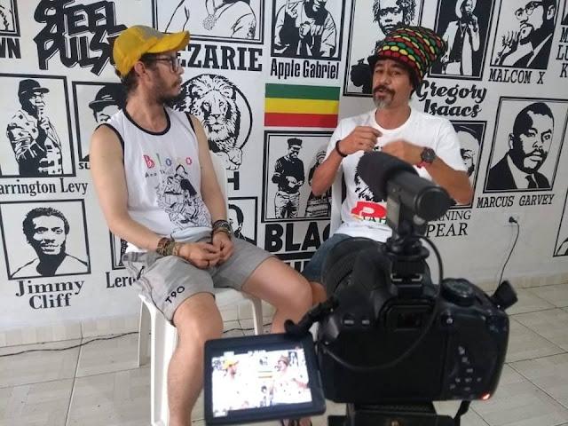 PAPEANDO: A cultura do Reggae com DJ Jahir em Delmiro Gouveia
