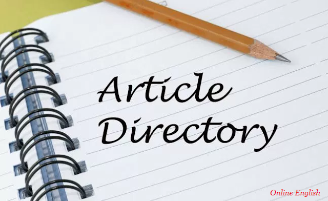 How do you start an Article Directory?