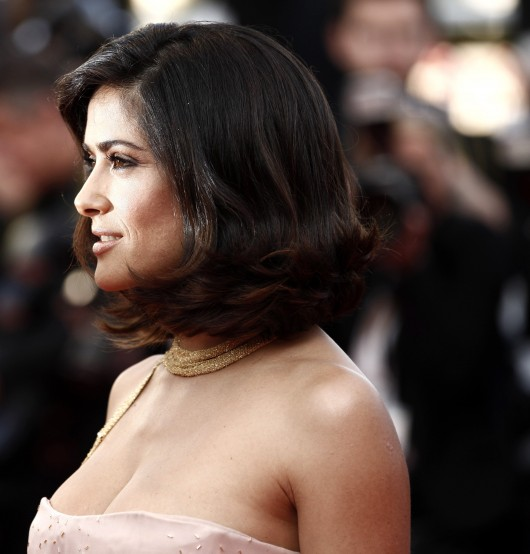 Mexican Actress Salma Hayek At Cannes Film Festival