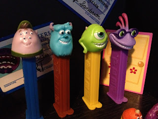 monsters university pez