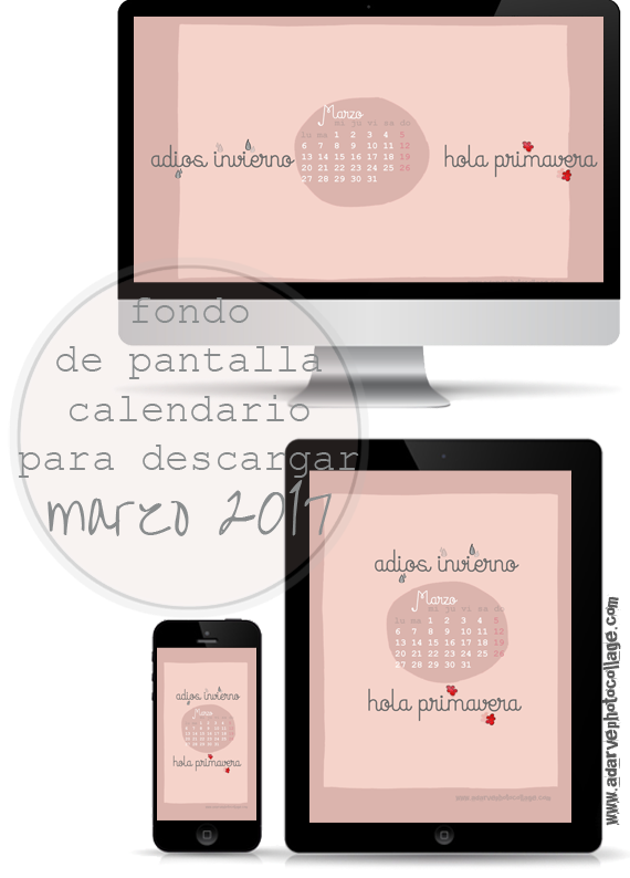 freebies, wallpapers, fondos de pantalla, calendario marzo
