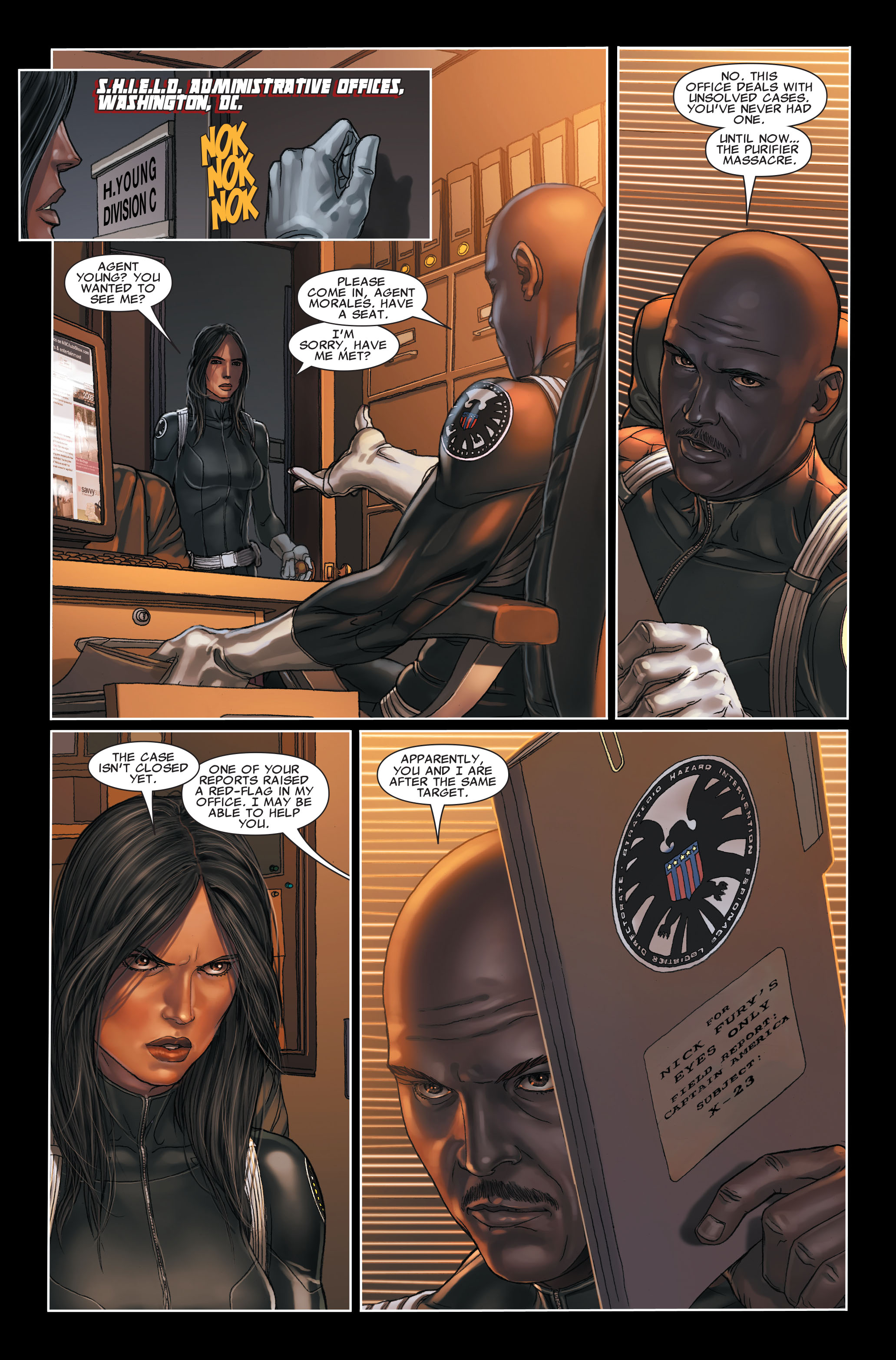 Read online X-Force (2008) comic -  Issue #7 - 12