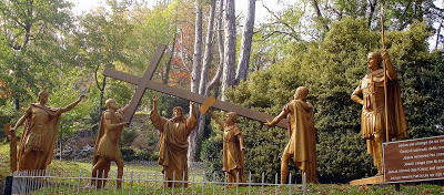 II Station of the Cross Jesus carries the cross