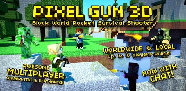 Download Pixel Gun 3D PRO Minecraft Ed. Apk + Data