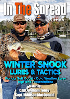 winter fishing snook lures in the spread william toney video