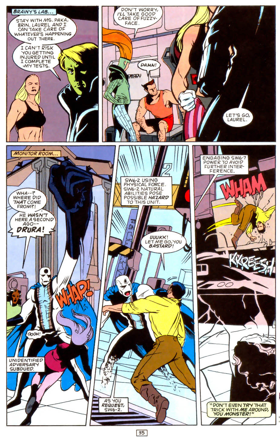 Legion of Super-Heroes (1989) 50 Page 35