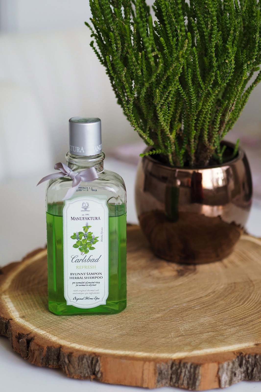 manufaktura Bylinný šampon s vřídelní solí a mátou