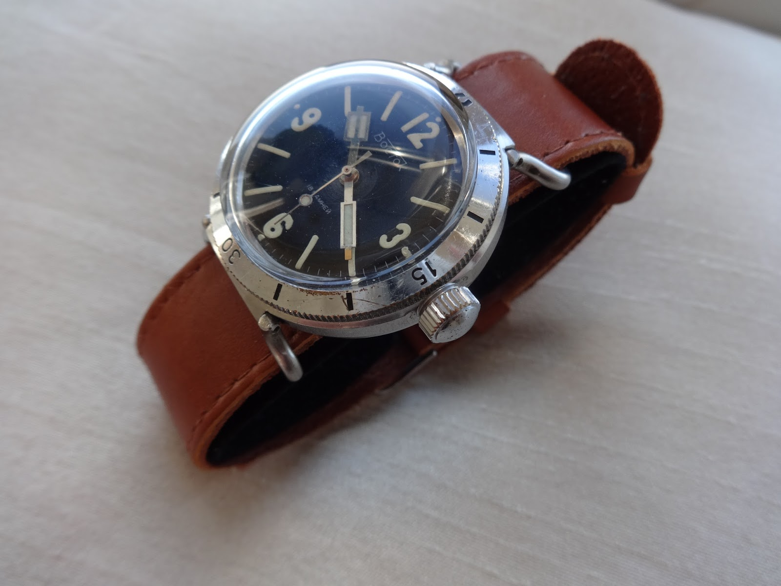 35a84785debe Just purchased a new military style one piece vintage leather strap