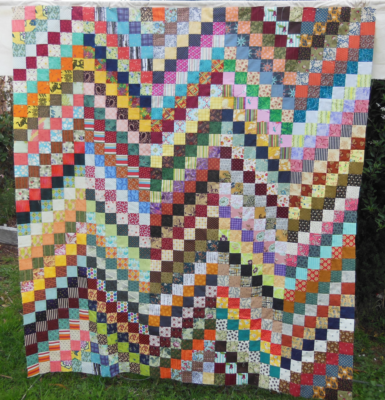 Quilting By Celia Scrappy Bargello Quilt Top And Aqc 2016