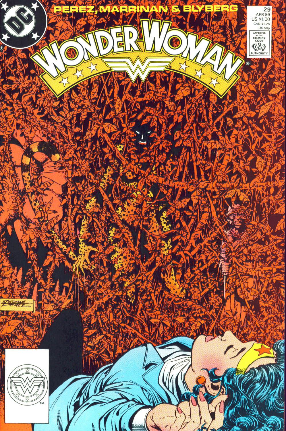 Read online Wonder Woman (1987) comic -  Issue #29 - 2