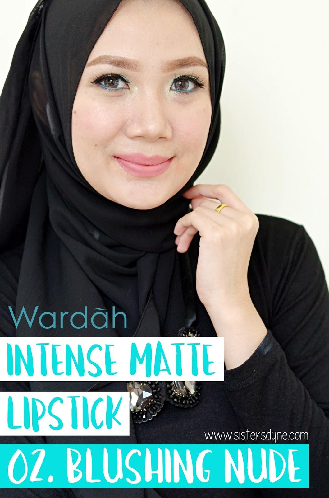 Wardah Intense Matte Lipstick 02 Blushing Nude 25gr Harga Passionate Pink 07 Wradah
