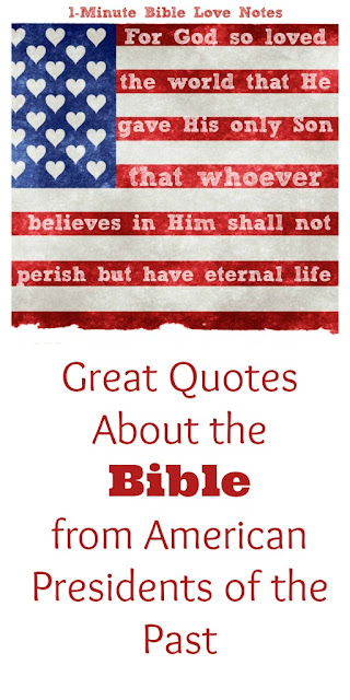 Quotes About God's Word from U.S. Presidents