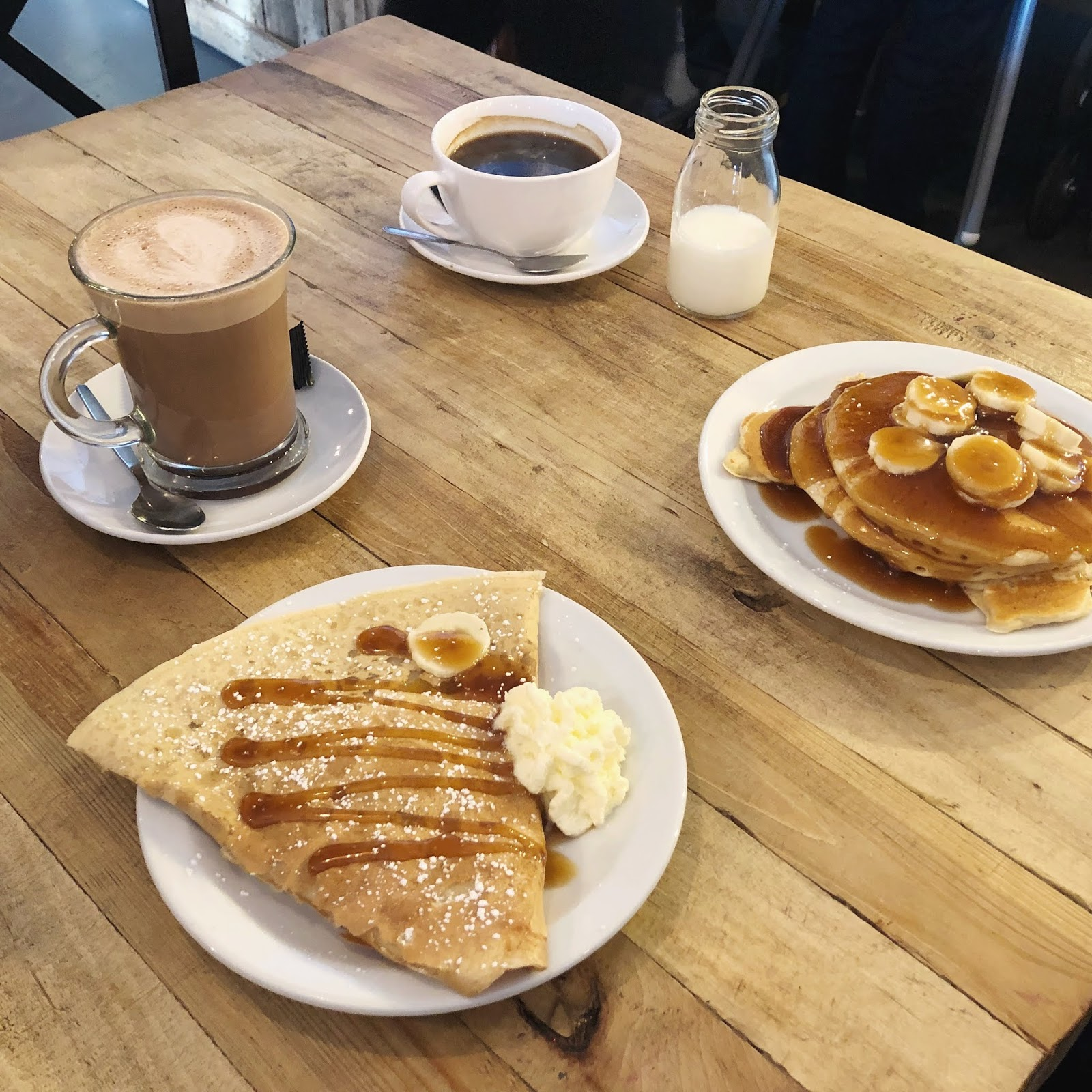 The Best Breakfasts in Newcastle - Monsieur Crepe Cafe
