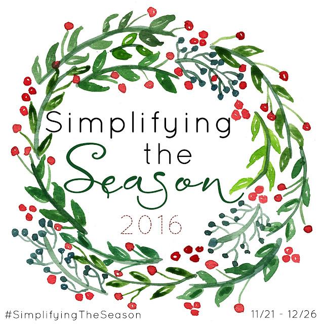 #simplifyingtheseason