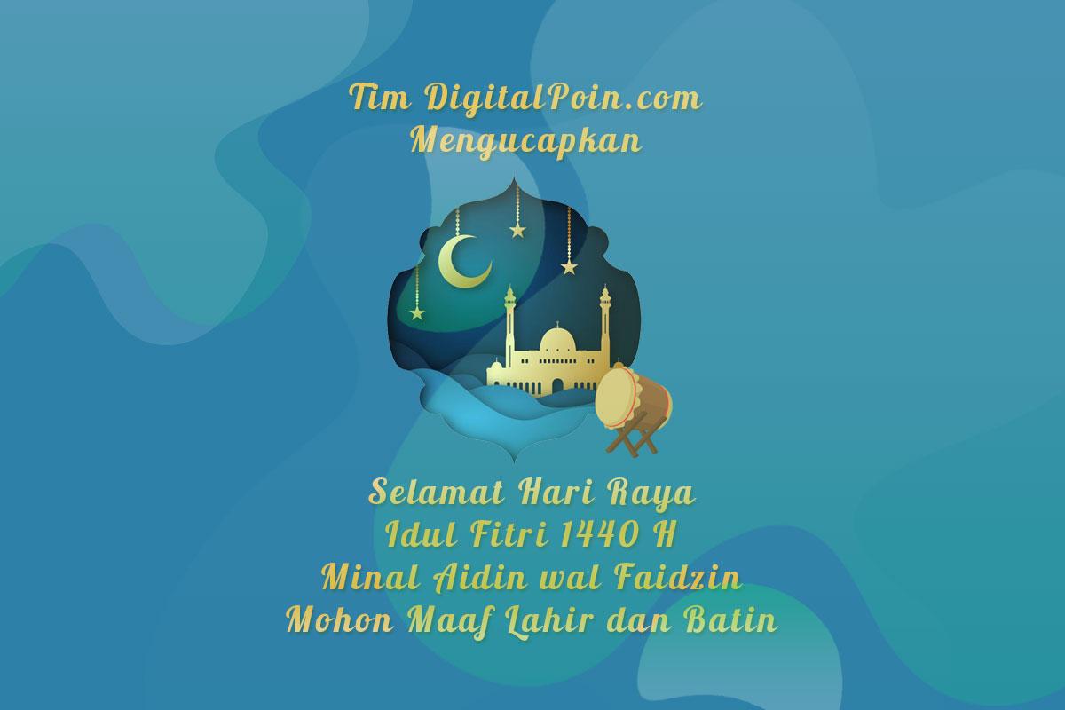 Selamat Hari Raya Idul Fitri 1440 H Mohon Maaf Lahir dan Batin
