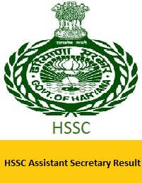 HSSC Assistant Secretary Result
