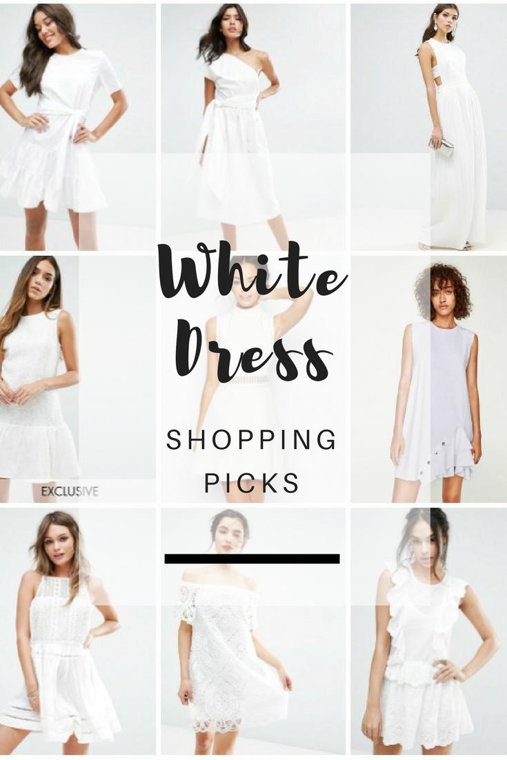 Shopping Files: White Dress Shopping Picks - Ioanna's Notebook