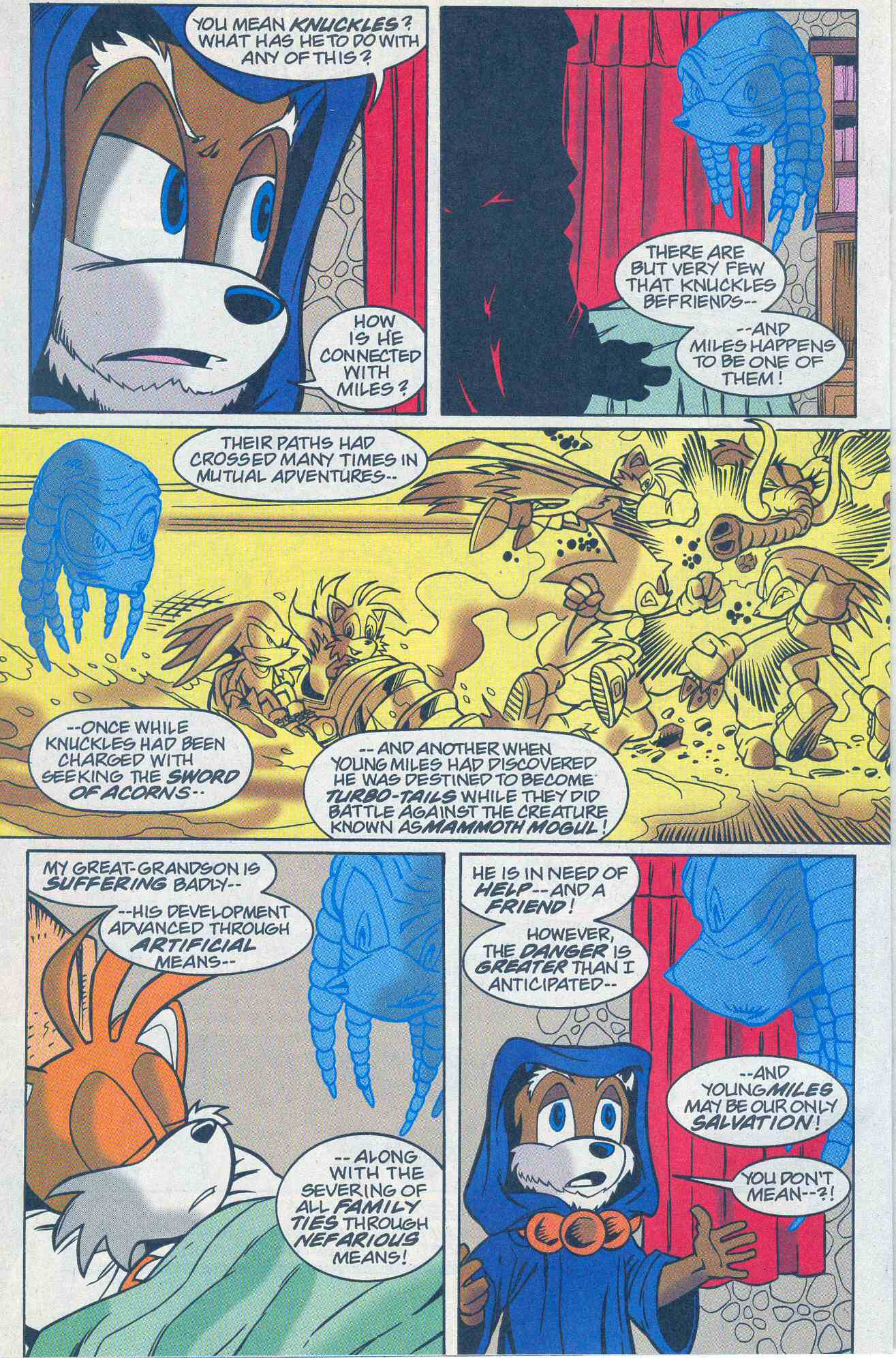 Read online Sonic The Hedgehog comic -  Issue #96 - 19