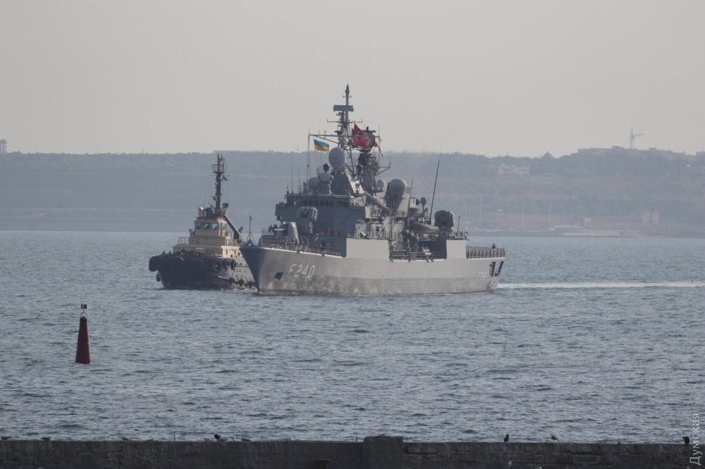 Багатонаціональна ескадра прибула до Одеси