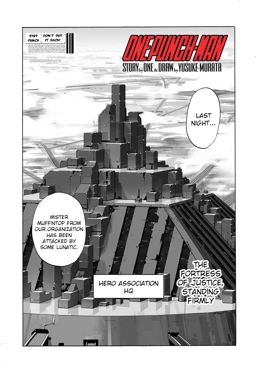 Onepunch-Man - Chapter 92