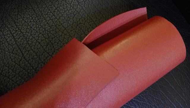 貼壓膠布, Laminated and Embossed PVC Sheeting, 紅泥膠布, 高雄