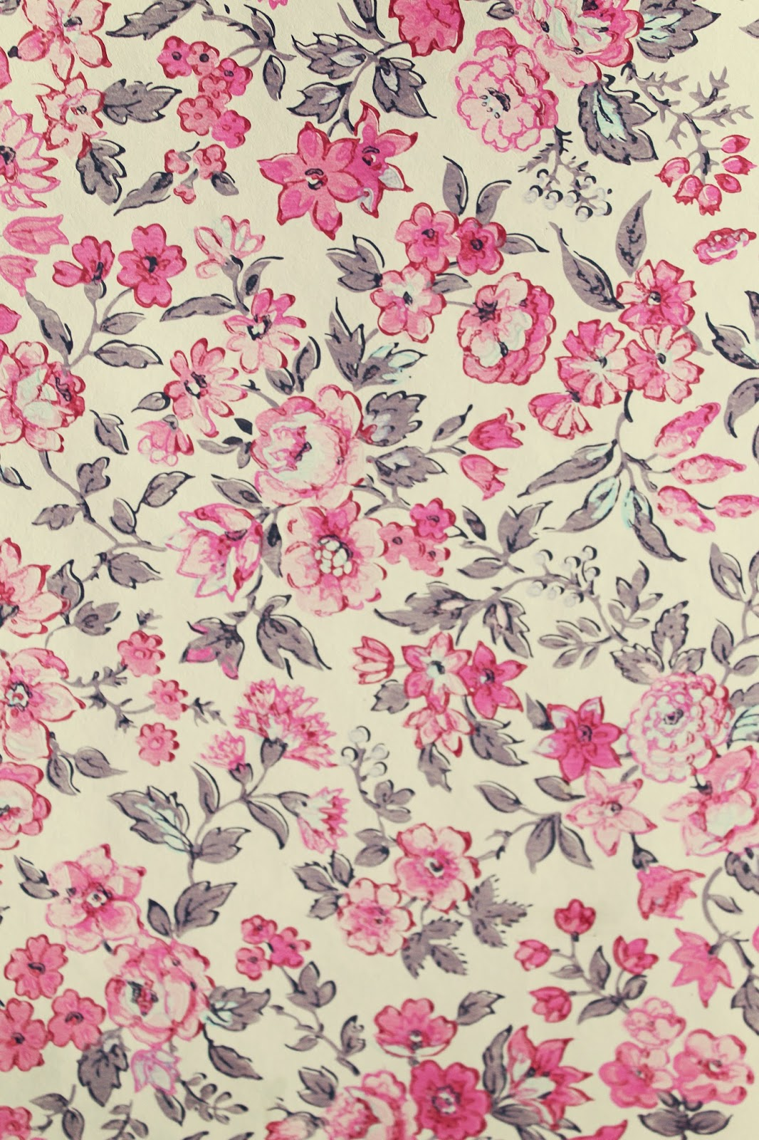 The Villa on Mou...Vintage Floral Background Pattern Tumblr