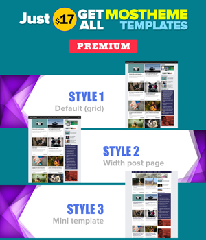 Get all Mostheme templates style