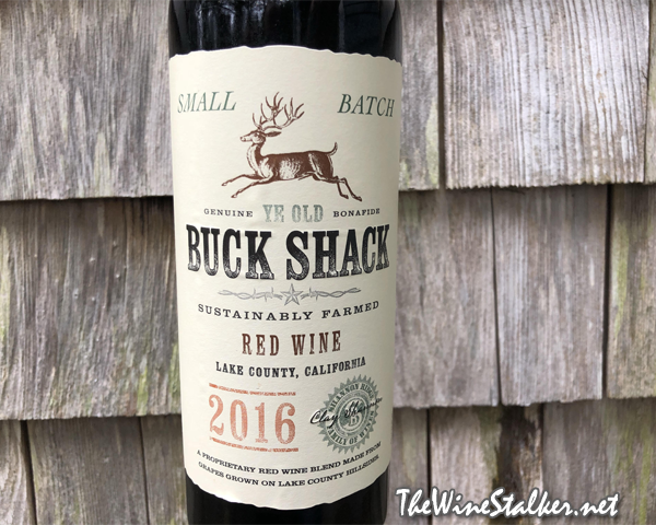 Buck Shack Red Wine 2016