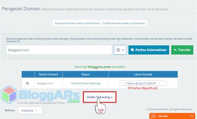 Register dan Membeli Domain TLD