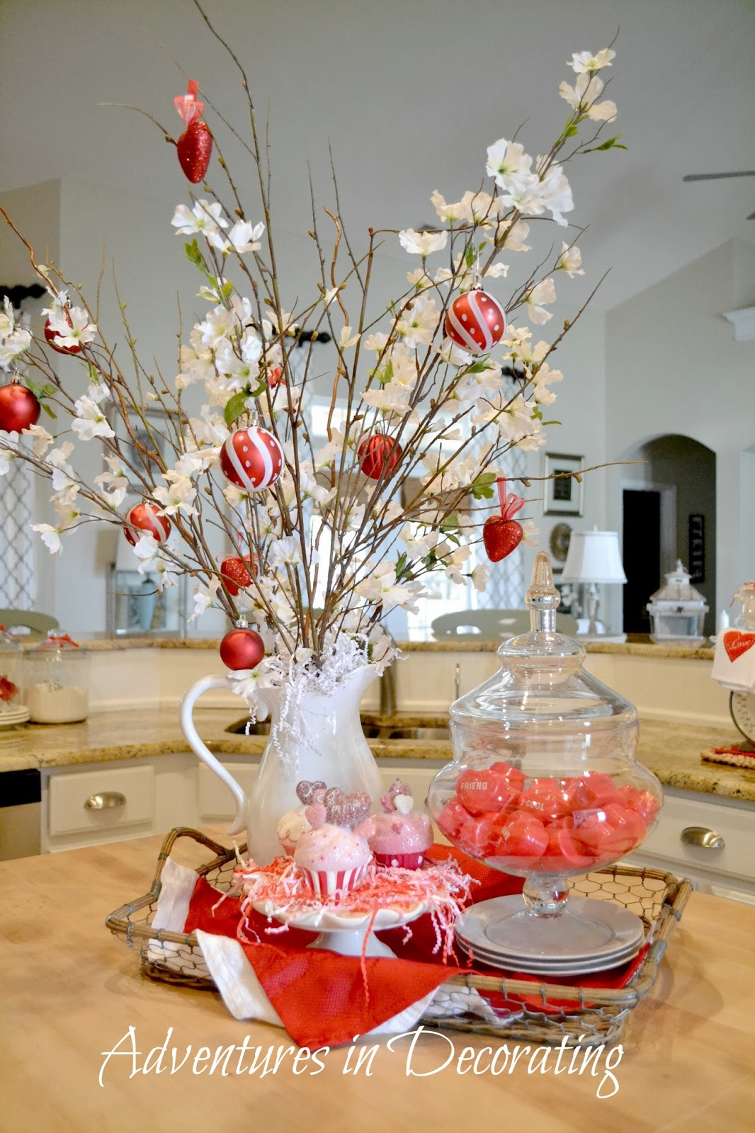 Decorative Items For Living Room: Adventures In Decorating: Our Valentine Kitchen