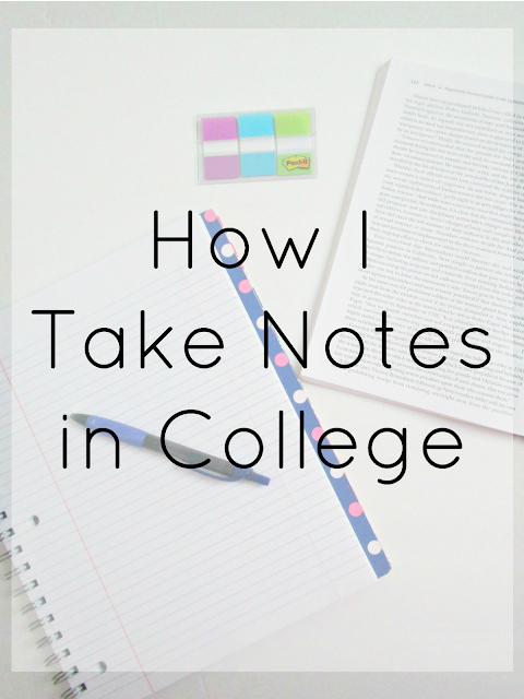 What to include in your notes to help you get better grades in college