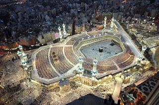 Masjidil Haram, Kaabah, Pusat Bumi,