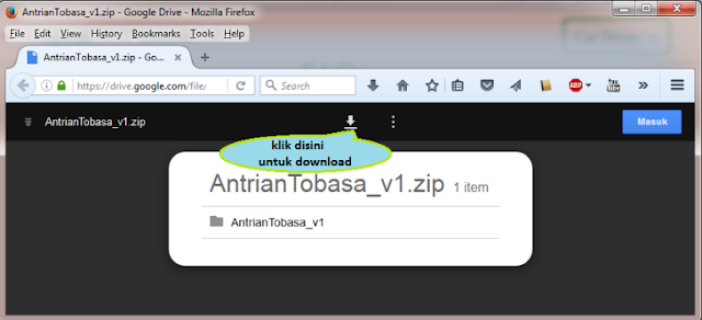 Download Software Antrian Tobasa