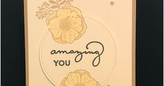 Stampin' Up! Amazing You Clean & Simple