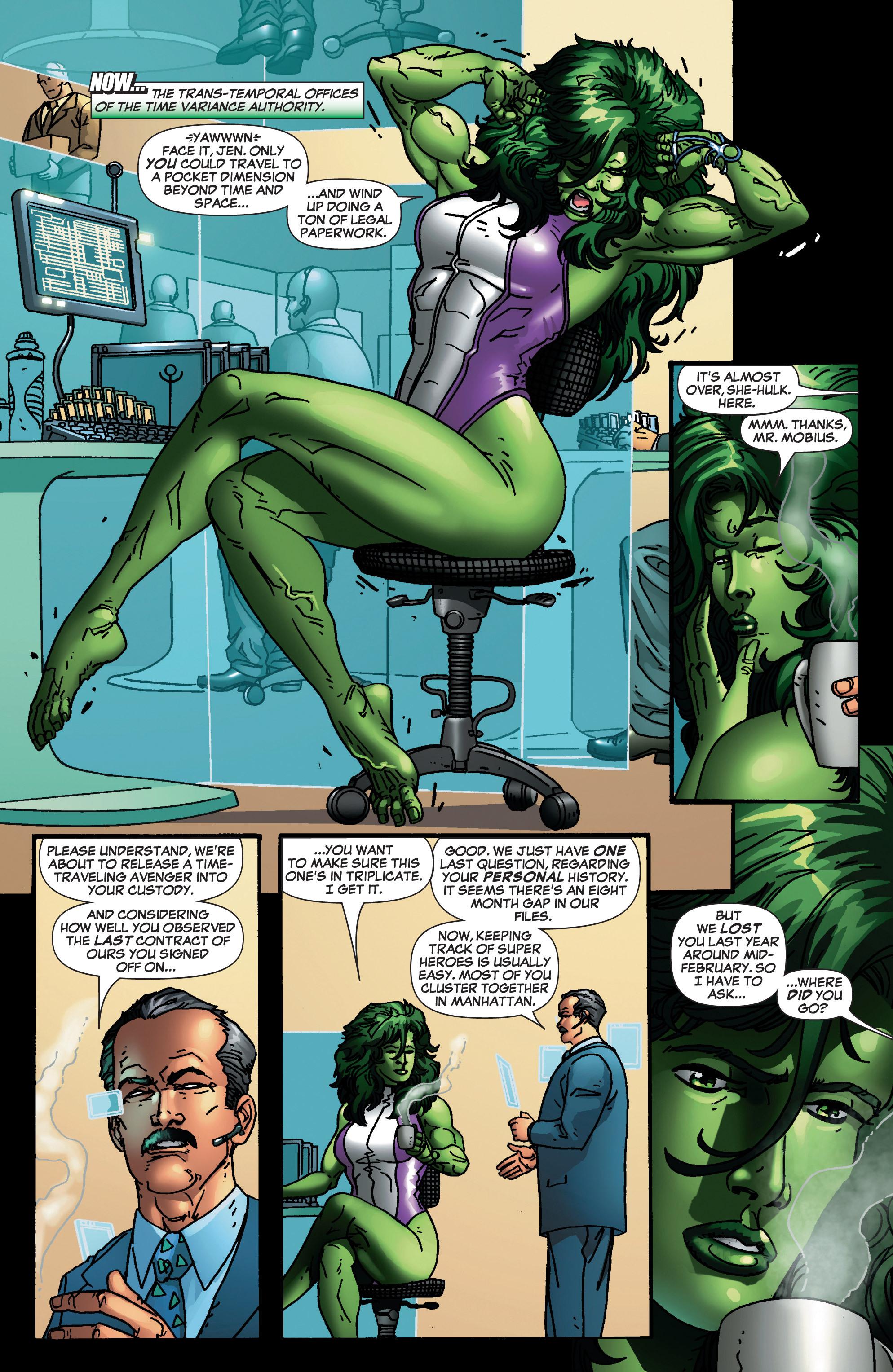 Read online She-Hulk (2005) comic -  Issue #4 - 2