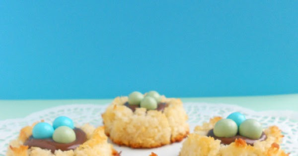 Coconut Macaroon Nutella Nests - Confessions of a ...