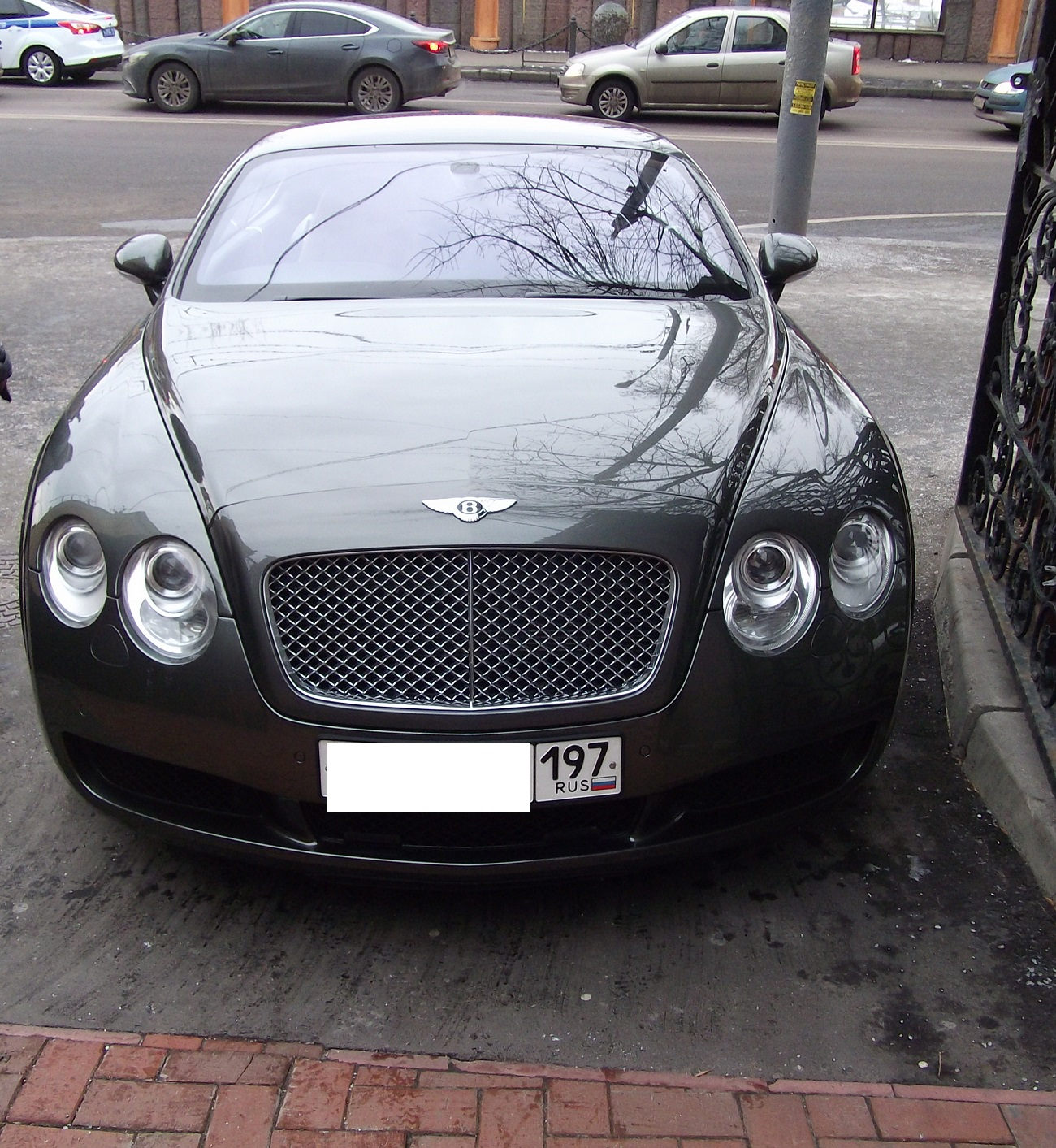 Spotted...cars In Moscow: Bentley Continental GT