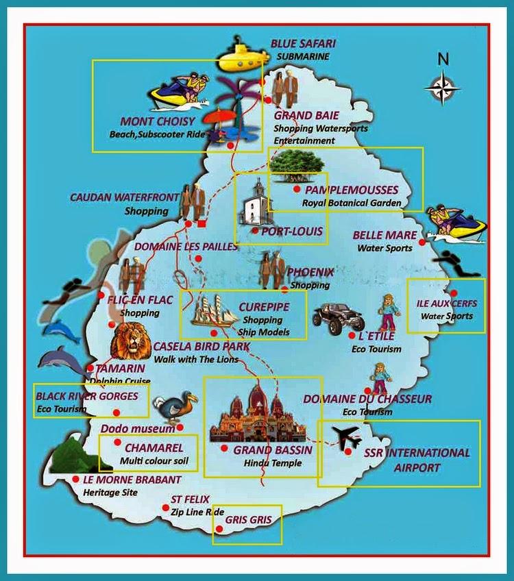 mauricijus mapa Kao na dlanu : * Korisne mape *** mauricijus mapa