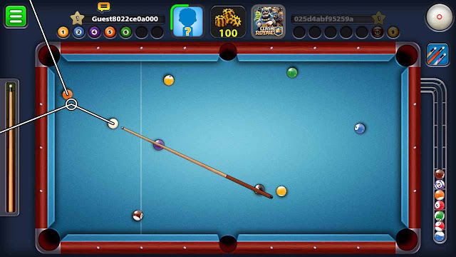 cheat 8 pool android tanpa root