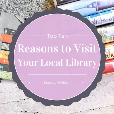 Ten reasons to go to your local library for Top 10 Tuesday