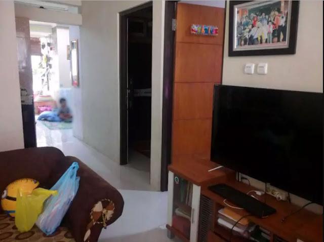 Ruang tamu (Living Room) - Jual Over Kredit Rumah Komplek di Cikoneng, Bojongsoang, Bandung